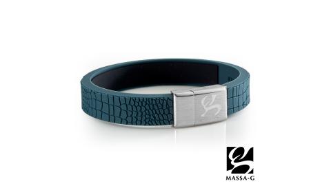 MASSA-G【絕色風華】鍺鈦能量手環-普魯士藍