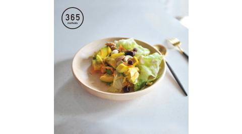 【日本365methods】天然楓木深型餐盤-21cm