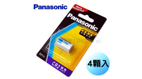 Panasonic 升級版 CR2 CR2R 一次性鋰電池 3V 拍立得 Mini 25 50適用 (4顆入)