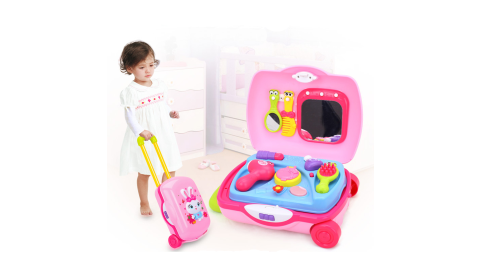 【HUILE】小白兔化妝箱玩具組