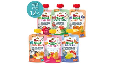 【大地之愛Holle】生機蔬果穀物綜合組100g/包(生機水果蔬菜果泥)