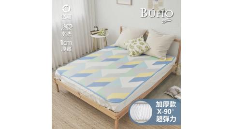 【BUHO布歐】蜂巢式6D立體3尺單人透氣循環涼墊(加厚1cm)-夏戀