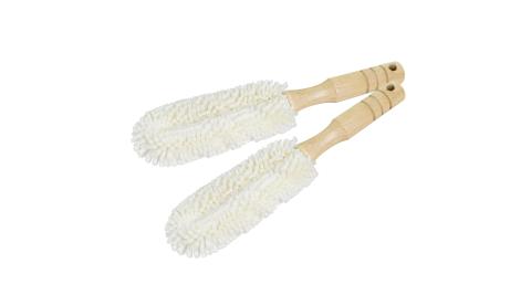 JoyLife 台灣製泡棉餐具木柄清潔刷2入