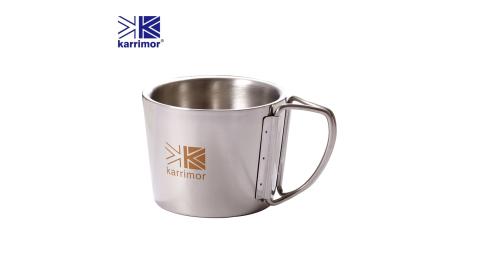 英國Karrimor 304不鏽鋼隨手杯350ml二入KA-M350