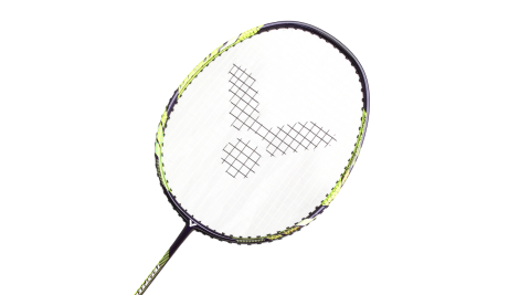 VICTOR 極速-穿線拍-訓練 羽球拍 羽毛球 勝利 深紫螢光黃@JS-5233@