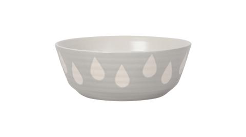 《NOW》Danica陶瓷餐碗(水滴灰15.5cm)