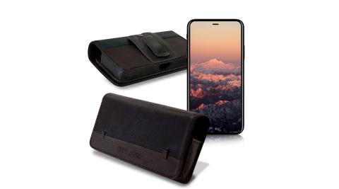 CB Apple iPhone SE2/iPhone 8 4.7吋 品味柔紋橫式腰掛皮套