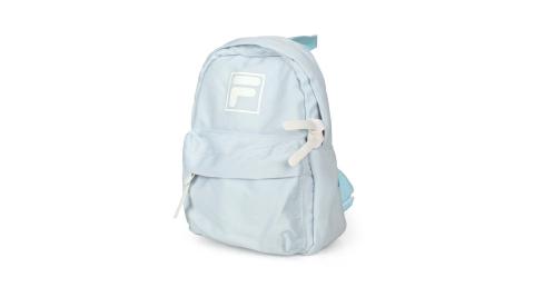 FILA 小型防潑水輕量背包-後背包 肩背包 雙肩包 兒童包 粉藍白@BPU-3002-SB@