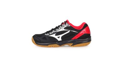 MIZUNO CYCLONE SPEED 2 女排球鞋-排球 美津濃 黑白紅@V1GA198002@