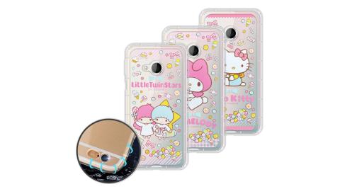 三麗鷗授權正版 Hello Kitty HTC U Play 5.2吋 糖果系列 空壓氣墊保護殼