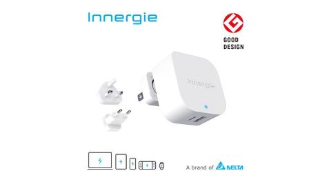 Innergie 45H 45瓦 PD USB-C 萬用充電器 雙孔快充 國際版