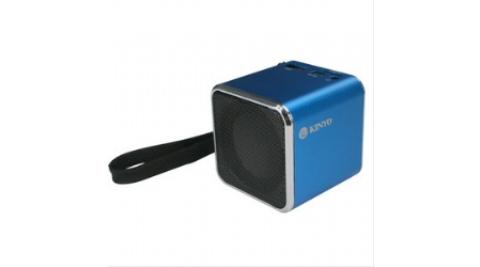 【KINYO】MPS-372 音樂盒讀卡喇叭 藍