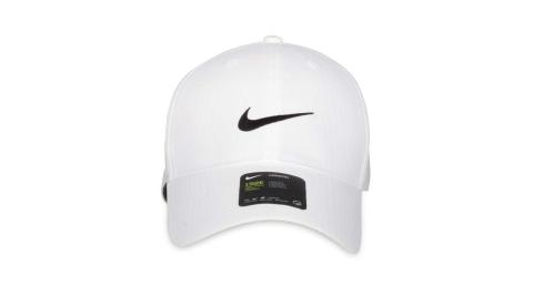 NIKE GOLF 高爾夫運動帽-防曬 遮陽 帽子 鴨舌帽 白黑@BV1076-100@