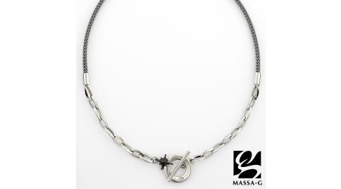 MASSA-G TitanX【北極星戀曲-黑】超合金鍺鈦項鍊