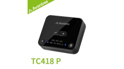 Avantree TC418P 一對二低延遲藍牙音樂發射器