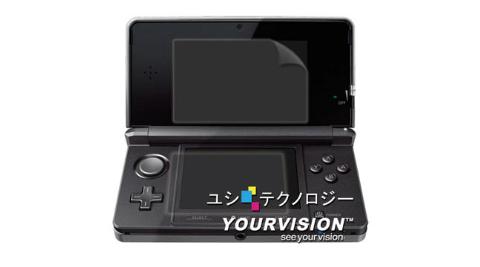 N3DS3DS上螢幕一般版下螢幕防刮螢幕貼贈布