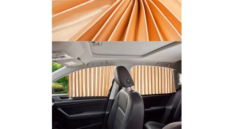 車用磁吸式軌道遮陽簾 汽車磁性伸縮窗簾 全磁力軌道吸附 隔熱/防曬/遮光