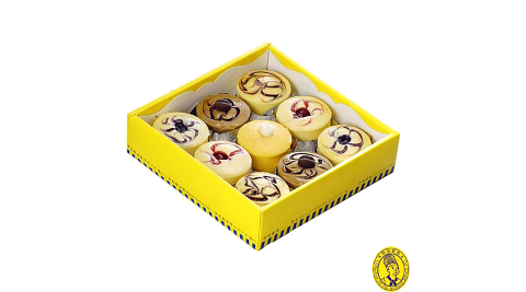 《烘焙雅集》泡芙乳酪9入禮盒