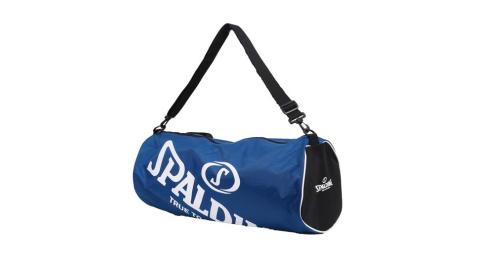SPALDING 三顆裝球袋-斯伯丁 籃球 側背包 手提袋 收納袋 寶藍白@SPB5314N65@