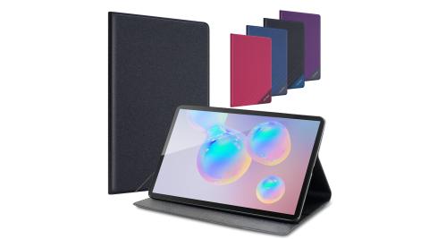 CITYBOSS for 三星 Samsung Galaxy Tab S6 10.4吋 LITE P610 P615 運動雙搭隱扣皮套