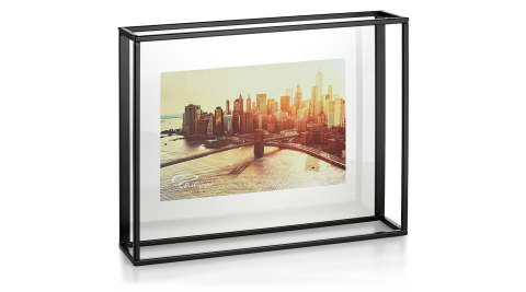 《PHILIPPI》立體玄黑相框架(25x20cm)