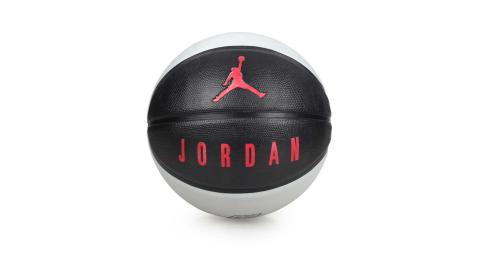 NIKE JORDAN PLAYGROUND 8P 7號籃球-籃球 飛人喬丹 黑灰紅@J000186504107@