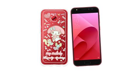 三麗鷗授權My Melody美樂蒂 ASUS ZenFone 4 Selfie Pro ZD552KL 氣墊空壓殼(糖果) 有吊飾孔