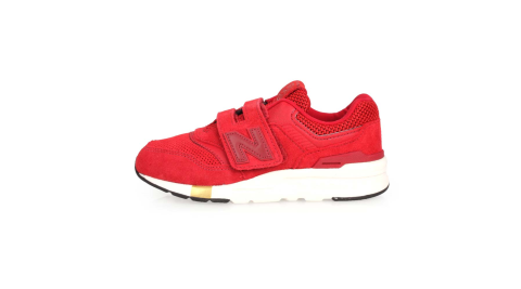 NEWBALANCE 997系列 男女童慢跑鞋-WIDE-魔鬼氈 NB 紅@PZ997HNY@
