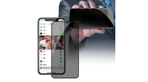 ACEICE for iPhone11 Pro Max / iPhone Xs Max 防窺滿版玻璃保護貼-黑