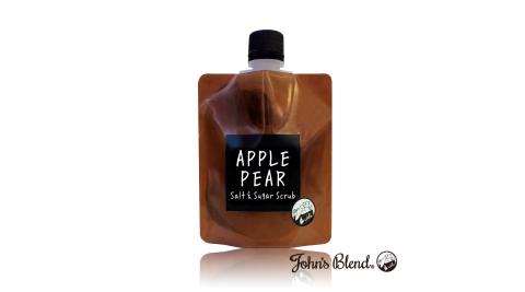 日本John's Blend 雙重奏香氛沐浴鹽(135g/袋)(蘋果甜梨APPLE PEAR)