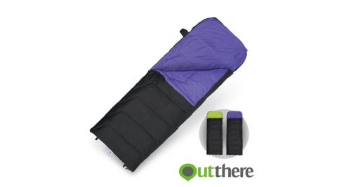 【好野 Outthere】好威T3高效睡袋 紫色/綠色 100%Thermolite T3 EcoMade高科技環保棉 極限溫度-15℃