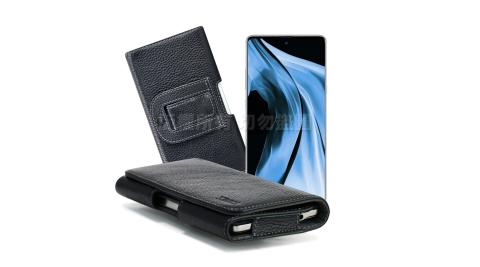 Xmart for 三星 Samsung Galaxy Note10 麗緻真皮腰掛皮套