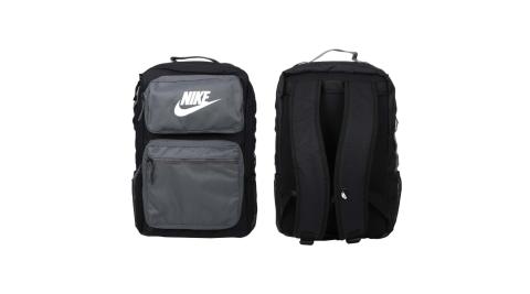 NIKE 大型後背包-肩背包 雙肩包 旅行包 筆電包 15吋筆電 灰黑白@BA6170-010@