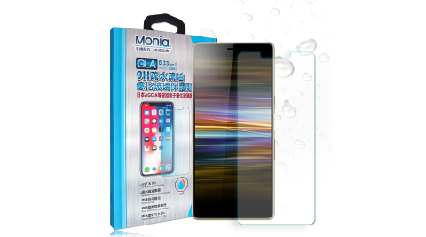 MONIA Sony Xperia L3 日本頂級疏水疏油9H鋼化玻璃膜 玻璃保護貼(非滿版)