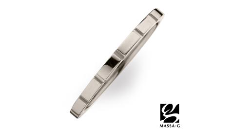 DECO X MASSA-G系列【M. Class】M05純鈦戒指-銀