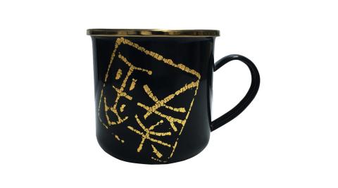 【K2】K2-0251-漢風琺瑯杯-限量款-限量 黑 琺瑯杯 杯子