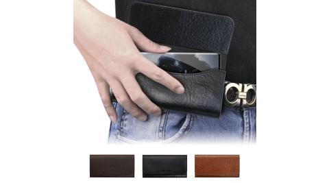 CITY BOSS 品味奢華植鞣牛皮/腰掛皮套 for 三星 Samsung Note10+ /Note 9 /S20+