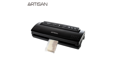 【ARTISAN】手工皂真空包裝機/黑 VS2140 (贈6x3x16cm包裝袋100個)