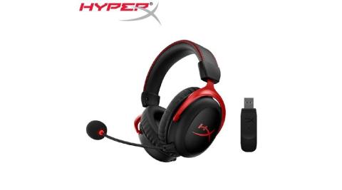 HyperX Cloud II 無線電競耳機(HHSC2X-BA-RD/G)