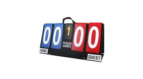 MOLTEN 桌上型計分板- 台灣製 籃球 排球 桌球 練習 比賽 計分牌 藍紅@JB-100@