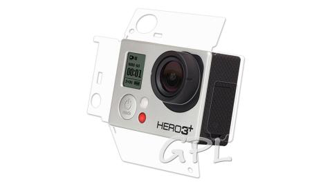 (2入)GoPro HERO 3+ 3 主機專用透明保護膜 機身膜(防污 防指紋)