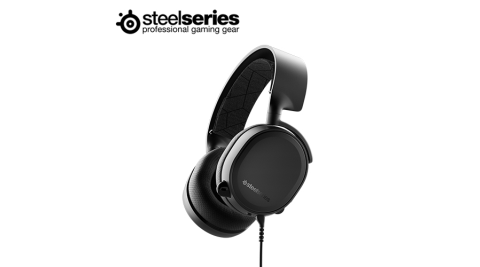 【SteelSeries 賽睿】ARCTIS 3 2019版 耳機麥克風 (黑色)