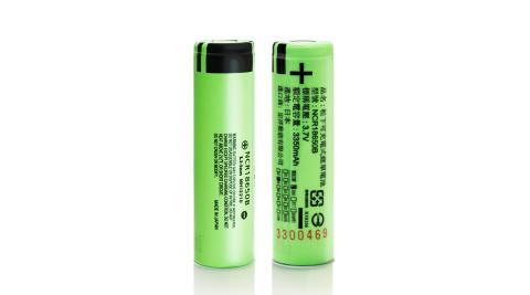 18650充電式鋰單電池(日本松下原裝正品)3350mAh*2顆入+送專用防潮盒*1