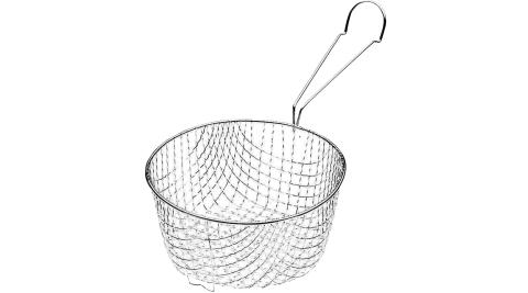 《KitchenCraft》夾式長柄炸籃(圓16.5cm)