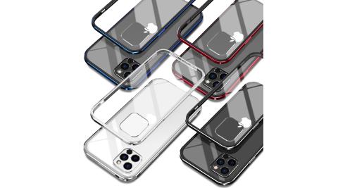 DAPAD for iPhone 12 Pro Max 6.7吋 鋁合金雙料背蓋保護殼