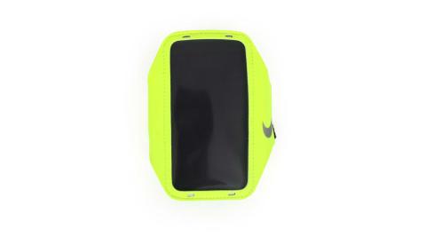 NIKE 輕量手機萬用臂包-慢跑 路跑 手機包 5.7吋螢幕適用 螢光黃@NRN65719OS@