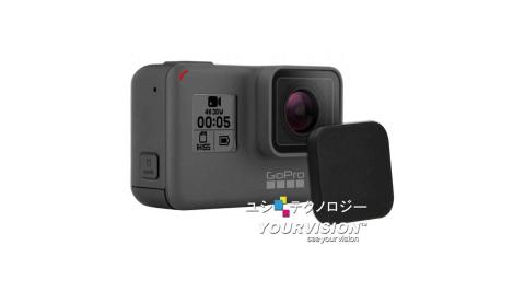 (2入) GoPro 副廠 HERO 7 / HERO 6 / HERO 5 簡約硬式 主機鏡頭蓋 保護蓋