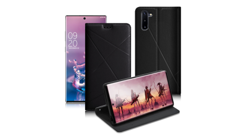Xmart for 三星 Samsung Galaxy Note10 渴望完美真皮磁吸皮套