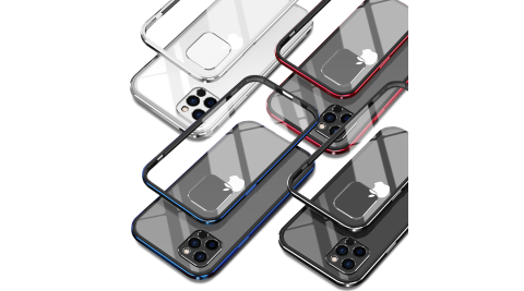 DAPAD for iPhone 12 / 12 Pro 6.1吋 鋁合金雙料背蓋保護殼