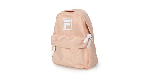 FILA 小型防潑水輕量背包-後背包 肩背包 雙肩包 兒童包 粉橘白@BPU-3002-YE@